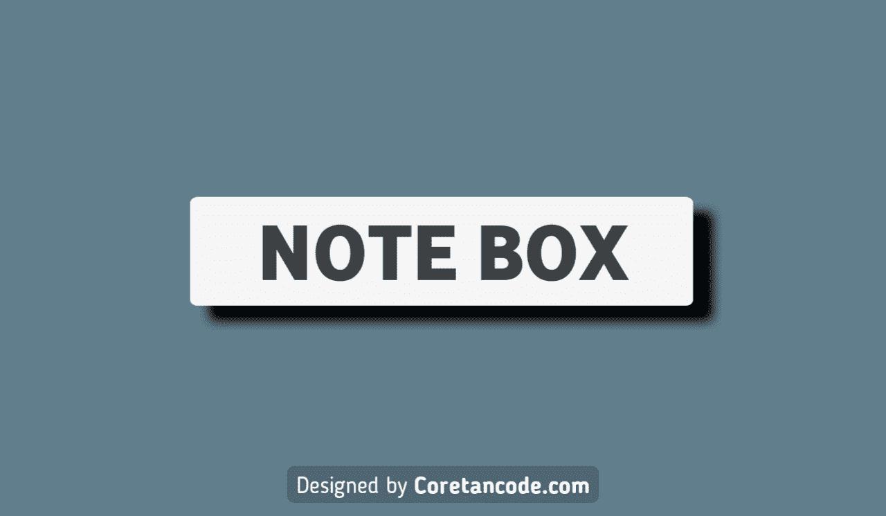 Cara Membuat Kotak Catatan di Blogger