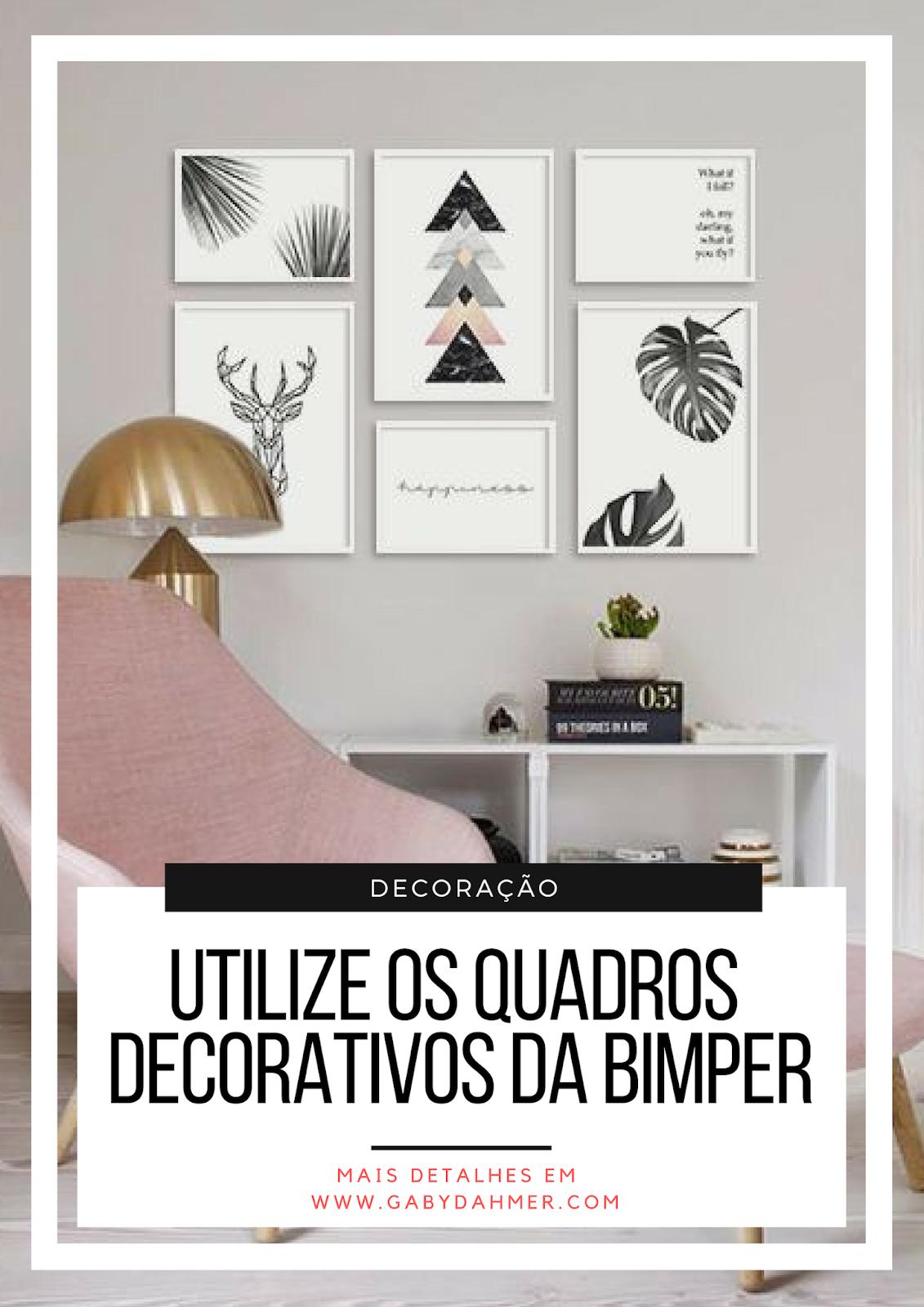 Quadros decorativos é na Bimper: