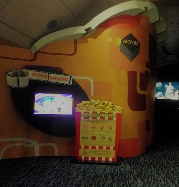 Movie Theatre at Chagi Airport