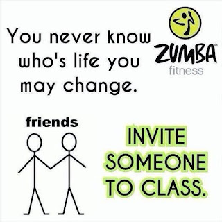You never know who's life you may change. Invite someone to class.