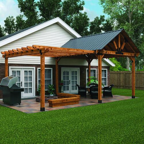 Covered Patio and Pergola Project