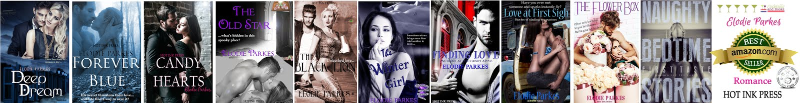 Elodie Parkes, erotic romance from Hot Ink Press