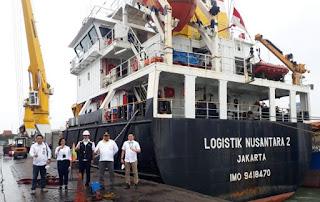 Meningkat, Muatan Tol Laut dari Merauke ke Surabaya