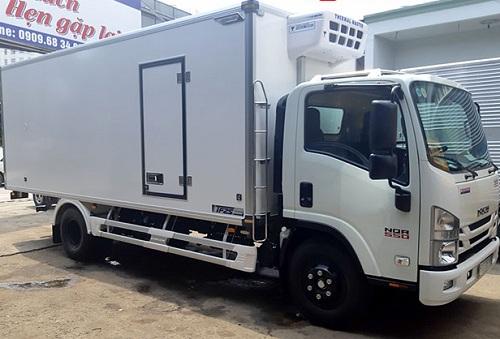 Xe đông lạnh 5 tấn Isuzu NQR 550