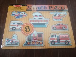 Drewniane puzzle z dźwiękiem