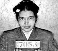 Rosa Parks Booking Photo Montgomery Bus Boycott