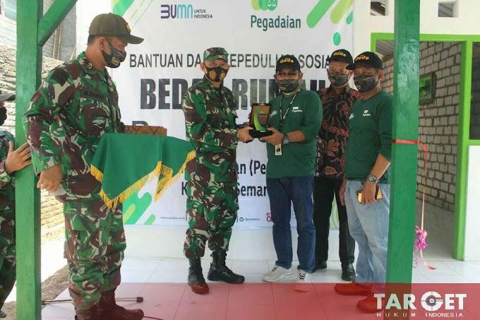 Dandim Pati : Sinergi Untuk Negeri, TNI dan PT Pegadaian Bedah Rumah Untuk Kesejahteraan Masyarakat