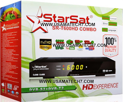 STARSAT SR-T600HD COMBO RECEIVER SOFTWARE NEW UPDATE