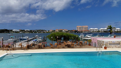 Nassau Yacht Club Pool Deck