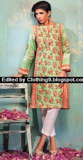 Alkaram Midsummer Shirt Collection 2015