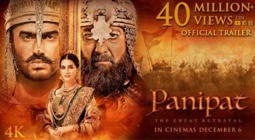 Panipat Full Movie Leaked By Cinevood, TamilRockers and KhatriMaza Download Link Online