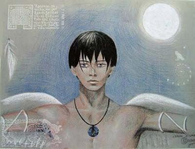 icare,visage,jeune homme,antiquité grecque,mythologie