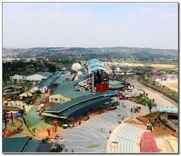 jungle land adventure theme park bogor jawa barat