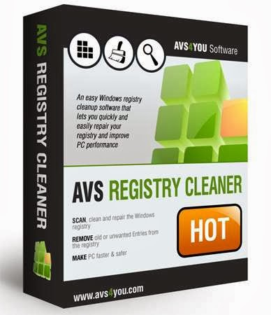 AVS Registry Cleaner 2.3.4.261 + Free