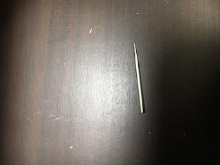 NT デザインナイフ DS-800Pの付属の針