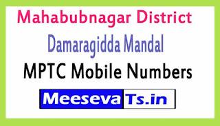 Damaragidda Mandal MPTC Mobile Numbers List Mahabubnagar District in Telangana State