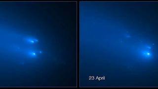 Komet Atlas Hancur, Muncul Komet Swan Yang Cantik
