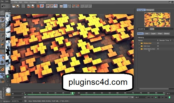 Learn the Cinema4D R19 Video Tutorial to fully explain the