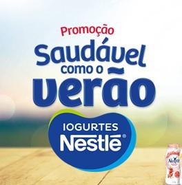 Promoção Saudável como o verão Nestlé
