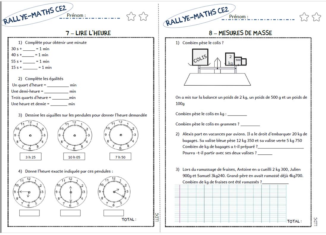 Assez Le Livre de Sapienta: Rallye-maths CE2 NI03