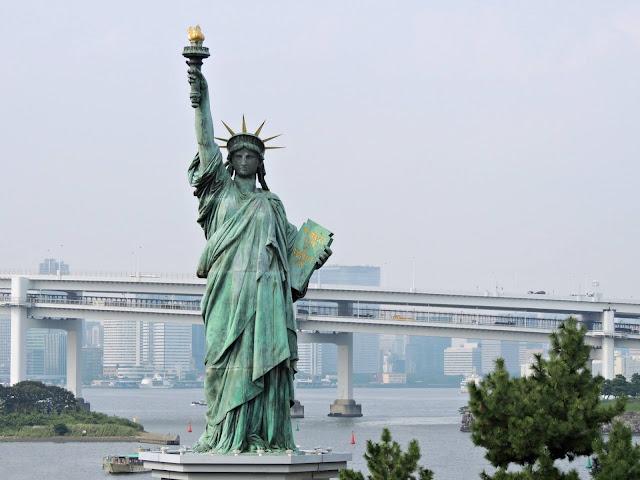 Réplica de la Estatua de la Libertad en Odaiba, Tokio