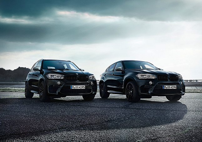 2018 BMW X5 M and X6 M Black Fire Edition