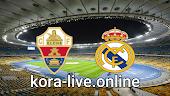 مباراة ريال مدريد وألتشي بث مباشر بتاريخ 13-03-2021 الدوري الاسباني