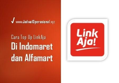 Top Up LinkAja di Indomaret dan Alfamart