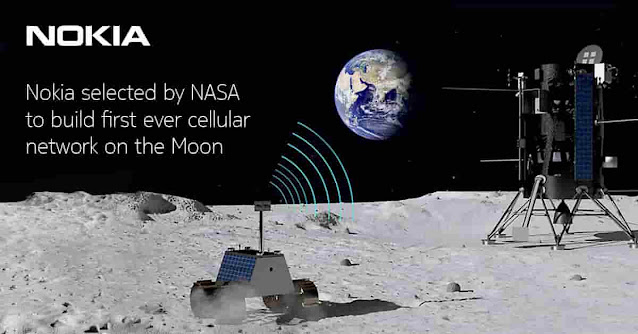 NOKIA Selected By NASA To Place Cellular Network On The Moon