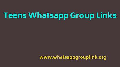 teens whatsapp group links