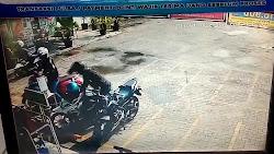 (Video) Aksi Pencurian Motor Terekam CCTV di Indomart Jati dan Alfamart Exit Tol Kalianda