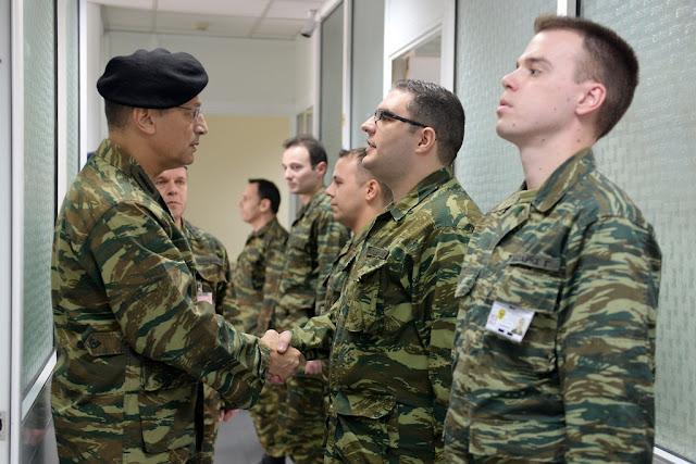 Αλκιβιάδης Στεφανής: Ο Αρχηγός ΓΕΣ συνεχίζει ακάθεκτος τις επισκέψεις - ΦΩΤΟ