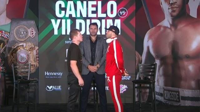 CANELO ALVAREZ PROMETE UNA EXCELENTE PELEA CONTRA YILDIRIM