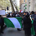 Photos: Nigerians storm Nigeria High Commission UK, demand to see President Buhari