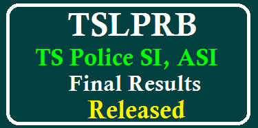 TSLPRB-Constable SCT SI Final Results Released @ tslprb.in /2019/09/TSLPRB-Constable-SCT-SI-Final-Results-Released-at-tslprb.in.html