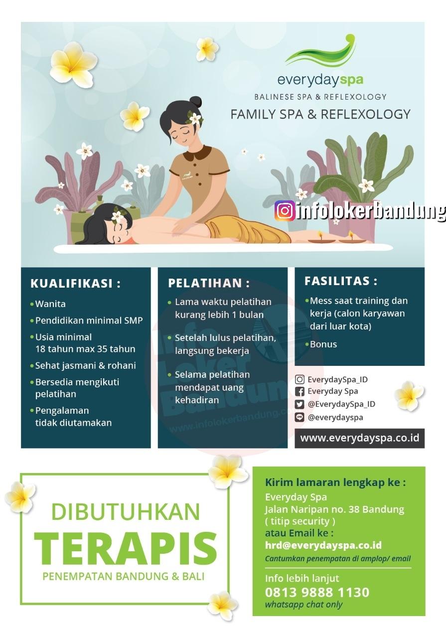 Lowongan Kerja Terapis di Everyday Spa Bandung Februari 2020