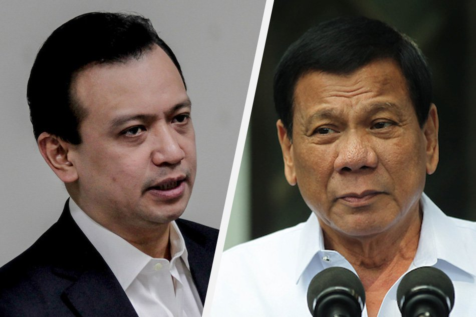 Duterte, Antonio Trillanes