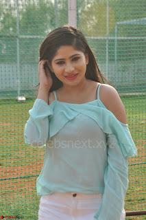 Madhulagna Das looks super cute in White Shorts and Transparent Top 63.JPG
