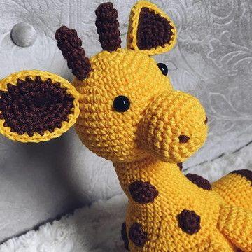 Girafa Em Crochê - Amigurumi - R$ 120,00 em Mercado Livre   360x360