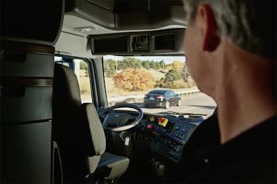 Així és el nou camió autònom d'Uber i el seu avançat sistema de radars