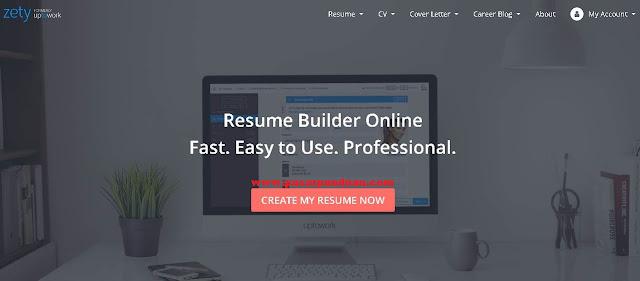 situs penyedia desain resume premium atau berbayar