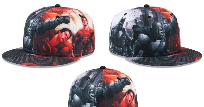d301ebb9f88 Batman v Superman  Dawn of Justice Hat Collection by New Era x DC Comics