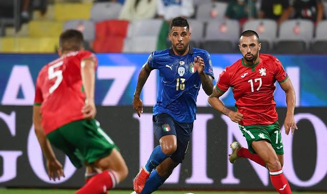 ملخص واهداف مباراة ايطاليا وبلغاريا (1-1) تصفيات كاس العالم