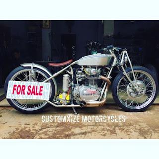 Forsale XS650 Yamaha Custom Boardtracker - JAKARTA