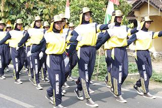 Borong Juara 1 SMK Yasmida Dalam Acara LKBB Kec. Ambarawa