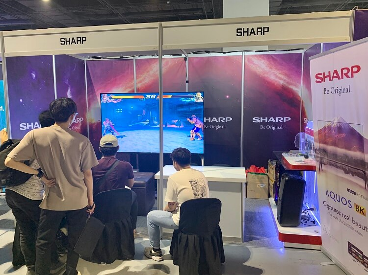 Sharp Philippines at ESGS 2019