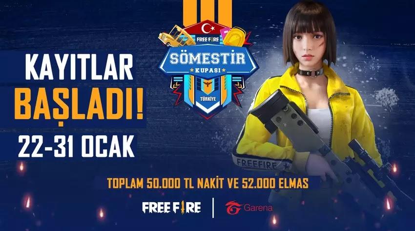 Free Fire Türkiye Sömestir Kupası Finalleri