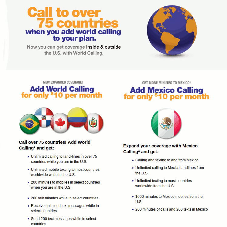 Metropcs World Calling Add On Now Includes International Roaming And