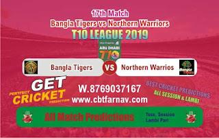 T10 League 2019 NOR vs BAT 17th T10 League 2019 Match Prediction Today Reports
