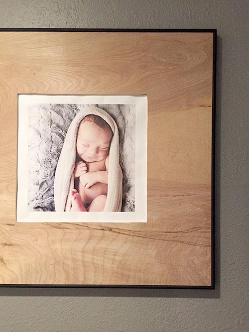 The Happy Homebodies Diy Chic Custom Photo Frame Makeover